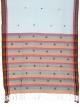 Women cotton embroidery saree