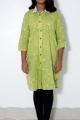 women light green kurti
