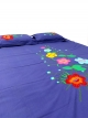 Appliqued Bed Cover Set