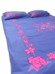 Appliqued cotton Bed Cover