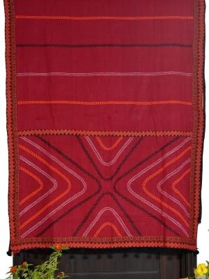 Women Hand Stitch cotton Saree