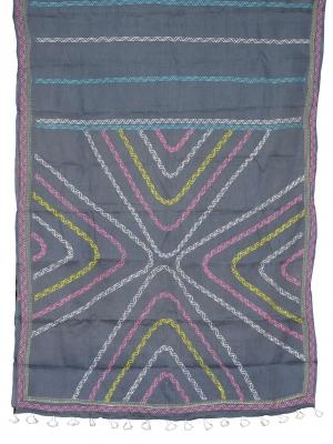 Hand Stitch Cotton Saree