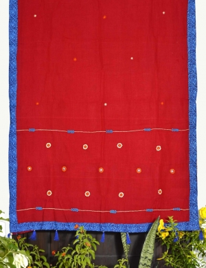 Cotton All Over Embroidered  saree