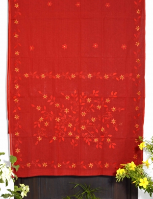 All Over Embroidered Saree