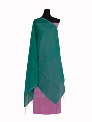 New Design Sky Color Half silk Orna Collection For Women